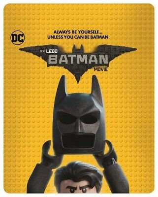 The LEGO Batman Movie 3D (HMV Exclusive Limited Edition Blu-ray Steelbook) [UK]