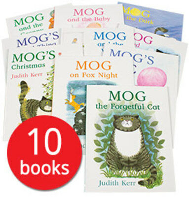 Mog Picture Book Collection - 10 Books Shrinkwrapped