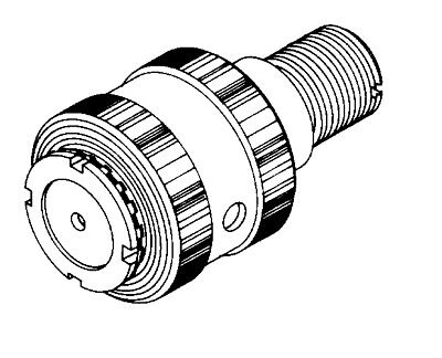 Biro Meat Saw Upper Shaft And Bearing Assembly, Complete Replaces A247