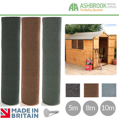 Shed Felt | Roofing Felt | 3 Colours | 3 sizes | Shed Roof Felt
