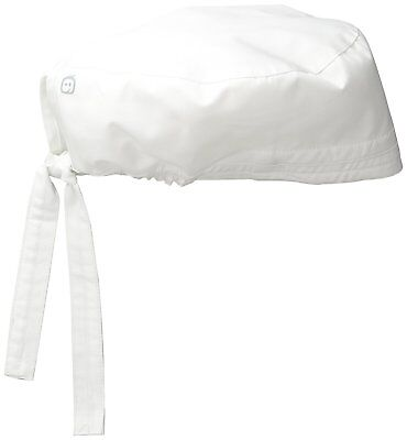 Elastic Band Mens Wonderwork Unisex Scrub Cap Hat White Surgical One Size Us