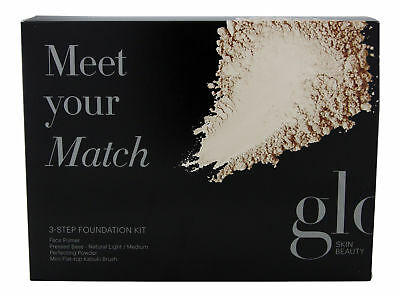 Glo Meet Your Match Foundation Kit Natural. Sealed Fresh