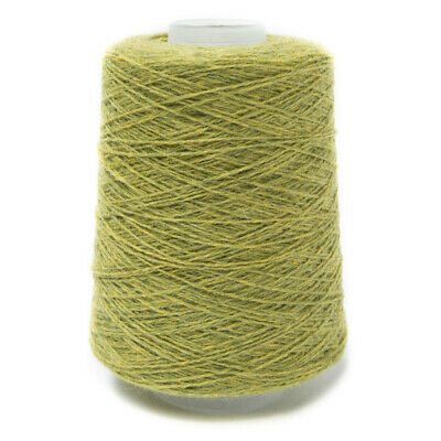 200G Lime Green Mix 2/11Nm Lambswool Yarn Calypso
