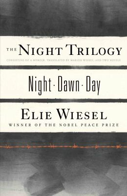 "The Night Trilogy ""Night"", ""Dawn"", ""Day"" by Elie Wiesel 9780809073641"