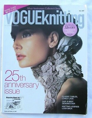 Vogue Silver Anniversary Collector's issue knitting magazine 2007 50 designs