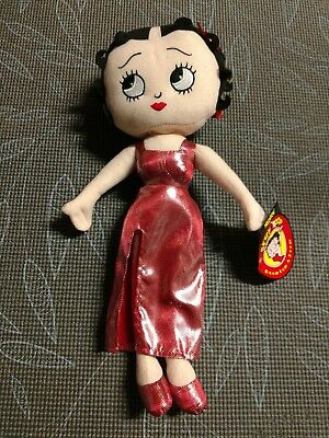 Betty boop in an orange dress
