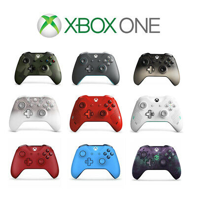 OFFICIAL MICROSOFT XBOX ONE WIRELESS CONTROLLER 3.5MM JACK NEW - 1 Year Warranty