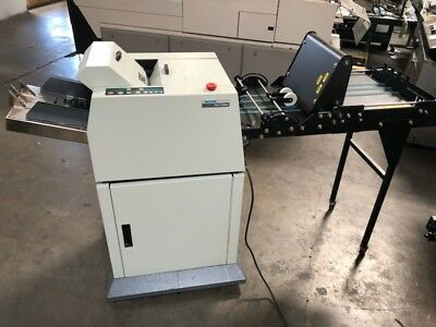 Moore PS-4 Turbo Pressure Sealer Folder with Stacker