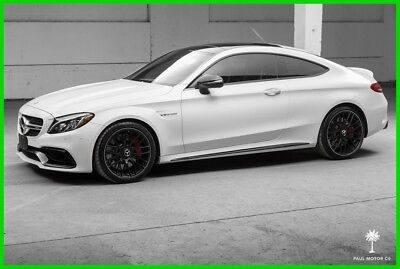 2017 Mercedes-Benz C-Class AMG C 63 S 2017 AMG C63 S 4L V8 Automatic RWD Coupe