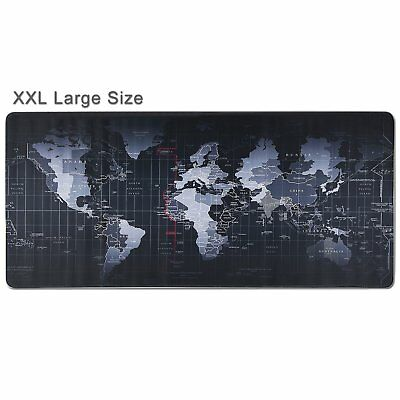 """Extended Gaming Large Mouse Pad Mat XXL 31.5"""" X 11.8"""" Big Size Desk Mat Black"""