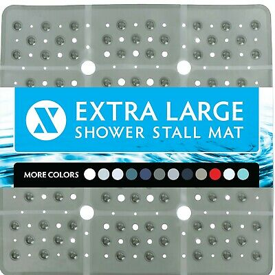 65% MORE COVERAGE! SlipX Solutions 27 Inch Extra Large Shower Mat