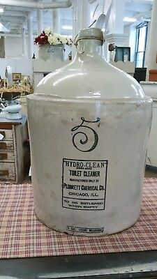 Red Wing 5 Gal Stoneware Advertising Chemical Co Jug Crock