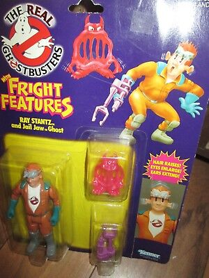 Real Ghostbusters With Fright Features Ray Stantz & Jail Jaw Ghost Action Figure