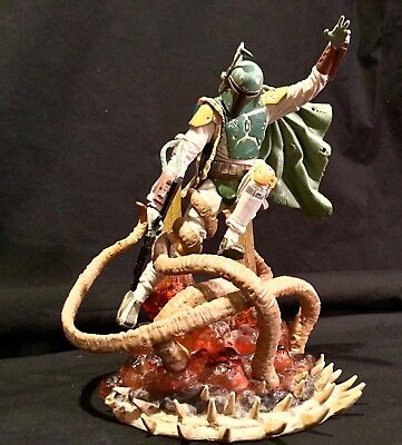STAR WARS UNLEASHED BOBA FETT Target Exclusive Sarlacc Pit Statue Bust  Figure