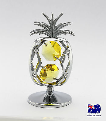 CRYSTOCRAFT Pineapple with SWAROVSKI crystals