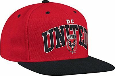 reputable site 2c6f0 904ee D.C. UNITED MLS Soccer Hat Ball Cap~Two Tone Snapback~Adidas~NWT~