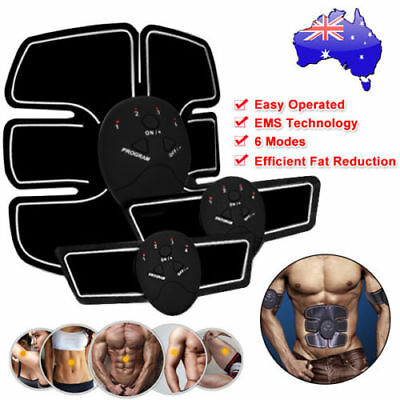 Muscle Stimulator Training Gear ABS Trainer Body Home EMS Massage Exercise Belt