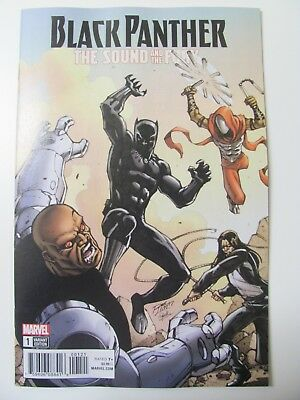 Black Panther The Sound and the Fury #1 Marvel 2018 One Shot Variant 9.6 NM+