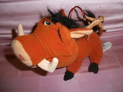 The Lion King - Pumbaa with Timon Figure