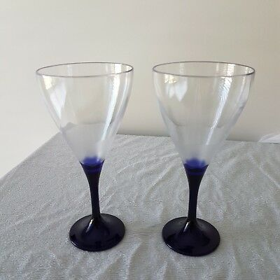 Tupperware Illusions Table Wine Glass set of 2 **NEW**