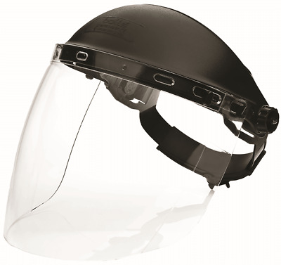 Bolle SPHERE FACE SHIELD Ultra Enveloping, Fully Adjustable Head Gear CLEAR