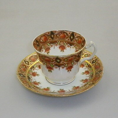 Vintage Roslyn China Cup and Saucer - Imari Pattern Variant of 5199