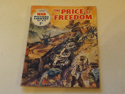 WAR PICTURE LIBRARY NO 45!,dated 1960!,GOOD for age,great 58!YEAR OLD issue,RARE
