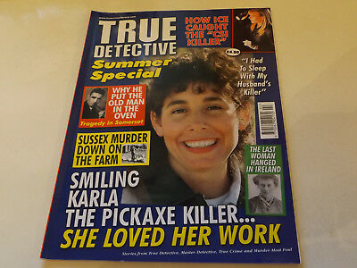 TRUE DETECTIVE MAGAZINE,SUMMER SP,2017 ISSUE,VERY GOOD FOR AGE,01 yr old,V RARE.