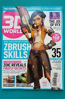 3D World January 2018 # 229  english  ungelesen 1A abs. TOP