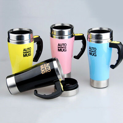 420ML Auto Magnetic Mug Self Stirring Mixing Tea Coffee Cup Für Office Home Gift