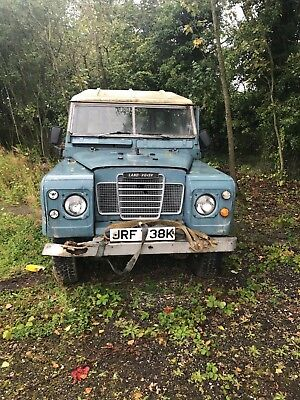 land rover series 3 1972 barn find