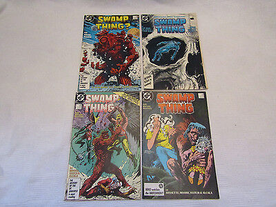 Swamp Thing issues  56,57,58,59 - Alan Moore