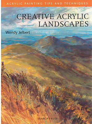 Painting  Book -  Creative Acrylic Landscapes