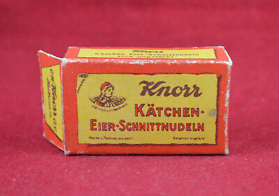 Wehrmacht Wwii German Soldier Small Food Ration Knorr Box Rare War Relic