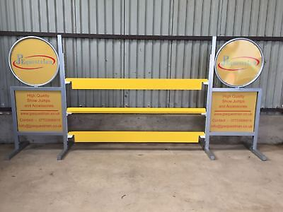 Aluminium Show Jumping Plank - for Showjumping to use with Showjumping cups 2.4m