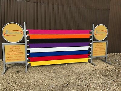 Aluminium Show Jumping Plank - for Showjumping to use with Showjumping cups 3m