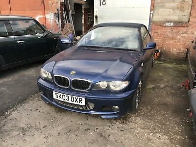 BMW E46 320ci 330 FACELIFT CONVERTIBLE M-SPORT MANUAL BREAKING FOR PARTS