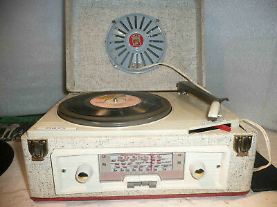 CIBOT Radio modèle Camping + tourne disque Philips AG2026