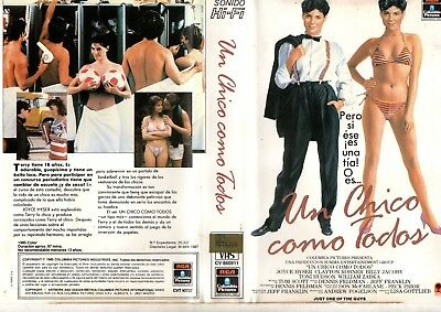 vhs orig UN CHICO COMO TODOS Just One of the Guys (1985) HOT TEENAGERS 80s