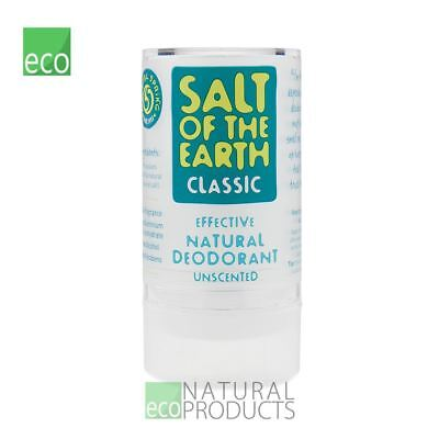 Salt of the Earth Natural Crystal Deodorant Stone Unscented 90g