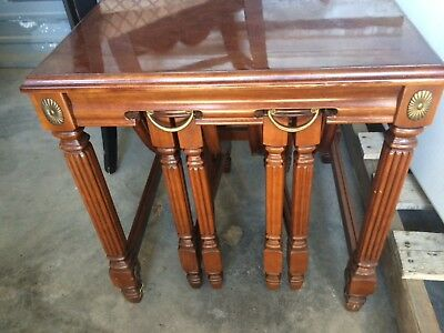 Nesting TABLES End Tables Set of Three 3.