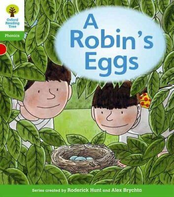 Oxford Reading Tree: Level 2: Floppy's Phonics Fiction: A Robin's Eggs by...