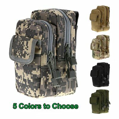 Tactical Waist Pack Belt Bag Molle Outdoor Camping Hiking Military Pouch Wallet
