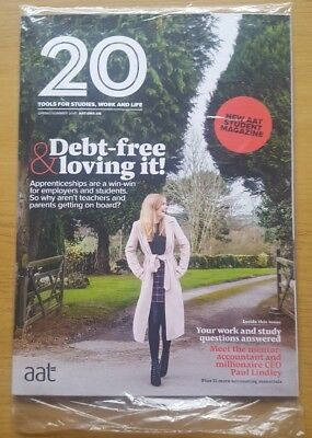 New Accounting Technician AAT Magazine. Spring Summer 2018. Sealed. Accountancy
