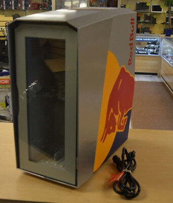 Red Bull Slim Countertop Eco LED Cooler * Used for a Week* FREE SHIPPING
