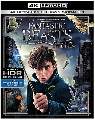 Fantastic Beasts 4k Slipcover ONLY (no movie discs, no case, no UV code)see desc