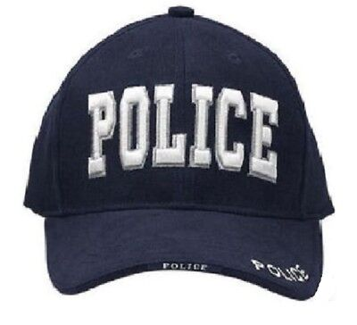 SWAT TEAM POLICE  BLACK OPS  Special Forces EMBROIDERED POLICE CAP