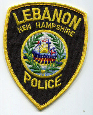 Lebanon New Hampshire Police Patch // FREE US Shipping!