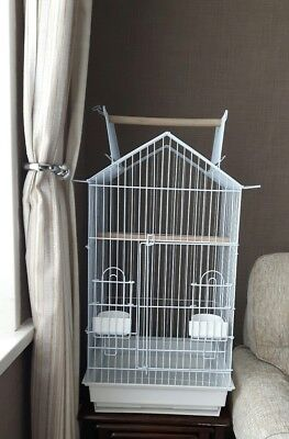 Bird and Parrot Cage for Cockatiel, Ringnecks and similar size birds