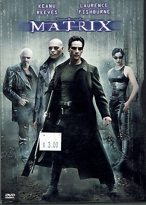The Matrix (DVD, 1999) [Keanu Reeves, Laurence Fishburne, Carrie-Anne Moss]
